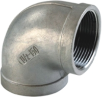 Picture of ANIX Stainless Steel CL150 NPT 90° Elbow (F-F)