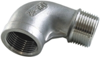 Picture of SS316 CL150 NPT 90° Elbow (M-F)