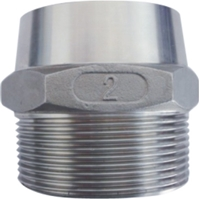 Picture of ANIX Stainless Steel CL150 NPT Hex Weld Nipple