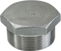 Picture of ANIX Stainless Steel CL150 NPT Hex Plug