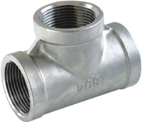 Picture of ANIX Stainless Steel CL150 NPT Equal Tee (F-F-F)
