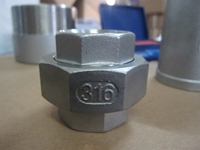 Picture of ANIX Stainless Steel CL150 NPT Union (M-F)