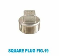 Picture of ANIX Stainless Steel CL150 NPT Square Plug