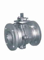 Picture of CF8M Flanged 2PC Full Port Ball Valve ANSI 300 (Fire Safe)