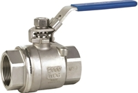 Picture of 2PC Full Port Ball Valve 2000 WOG Lockable