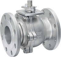 Picture of CF8M Flanged 2PC Full Port Ball Valve ANSI 300