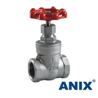 Picture of ANIX Stainless Steel Gate Valve Class 200 Threaded NPT