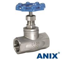 Picture of ANIX Stainless Steel Globe Valve Class 200 Threaded NPT