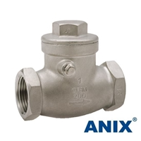 Picture of ANIX Stainless Steel Swing Check Valve Class 200 Threaded NPT