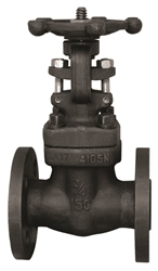 Picture of ANIX Forged Steel Gate Valve Flanged ANSI Class 600 / 300 / 150