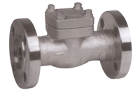 Picture of ANIX Forged Steel Swing Check Valve Flanged Class 600 / 300 / 150