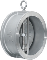 Picture of ANIX Stainless Steel Wafer Double Disc Spring Check Valve